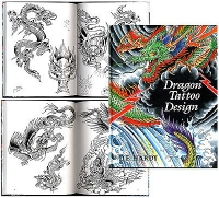 121 Dragon Tattoo Design by D. E. Hardy