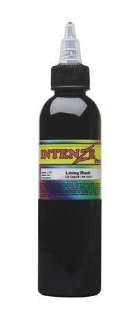 093-6 Intenze Lining Black 4 унции(120мл)